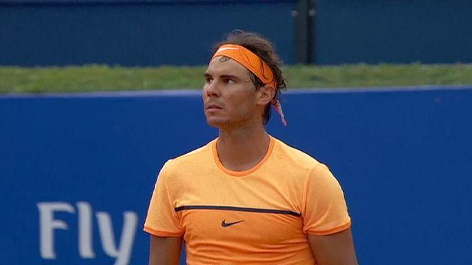 Barcelone : Nadal-Kohlschreiber et Nishikori-Paire en demies