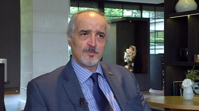 """بشار الجعفري ليورونيوز:"""" المنسحبون من محادثات جنيف هواة في السياسة ويخضعون لأجندات خارجية """""""
