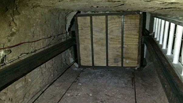 """Aufnahmen von """"Drogentunnel"""" zwischen Mexiko und USA veröffentlicht"""
