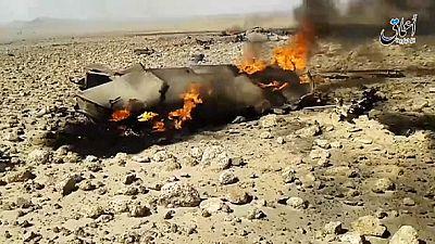 EI asegura haber capturado a un piloto sirio tras derribar su avión
