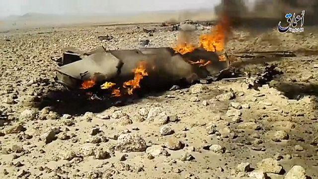 Боевики ИГ взяли в плен сирийского пилота?