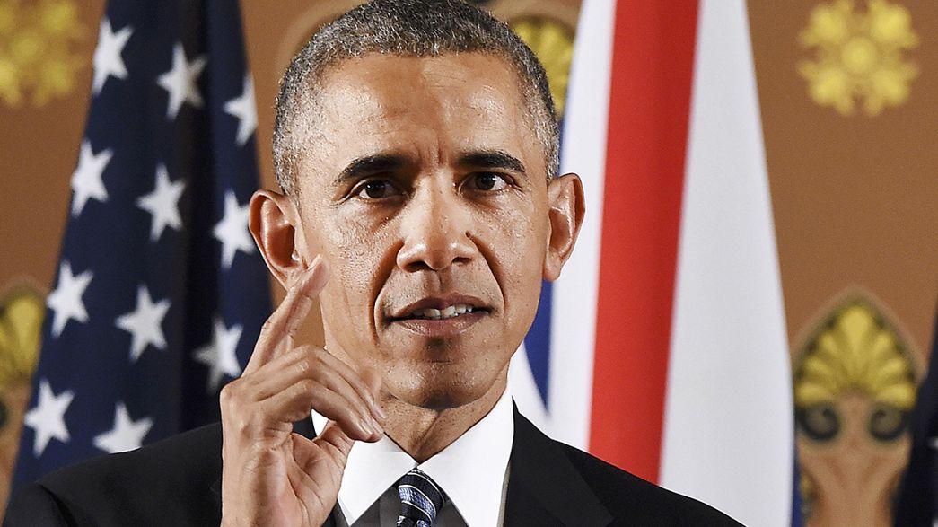 Obama appelliert in Großbritannien für einen Verbleib in der EU