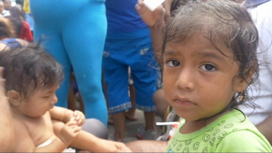 Всемирная продовольственная программа направила помощь Эквадору
