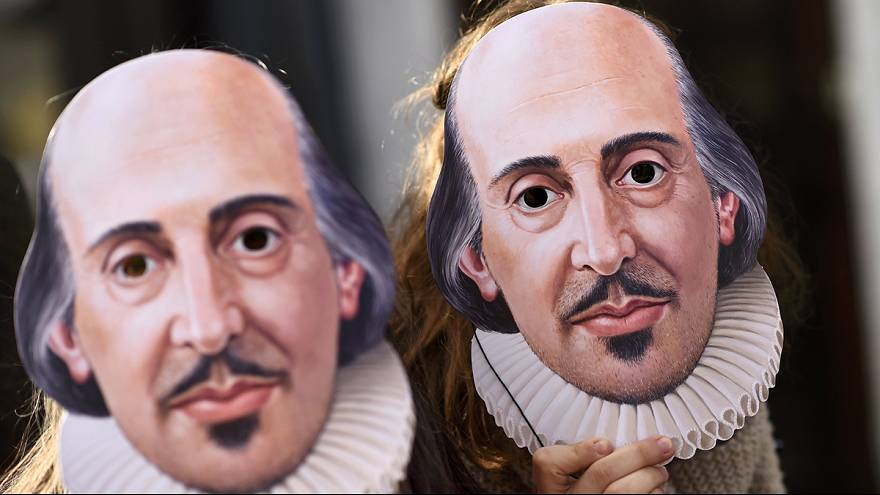 All the world's a stage: Euronews presents a snippet of Shakespeare