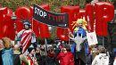 #ttipdemo: Protest in Hannover und im Internet