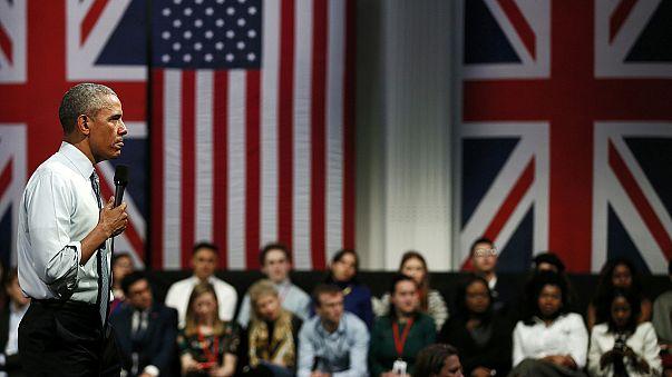 أوباما يخلع ثوب السياسي ويدعو الشباب البريطانيين إلى نبذ العنصرية والكراهية