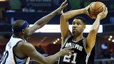 NBA : San Antonio s'impose à Memphis