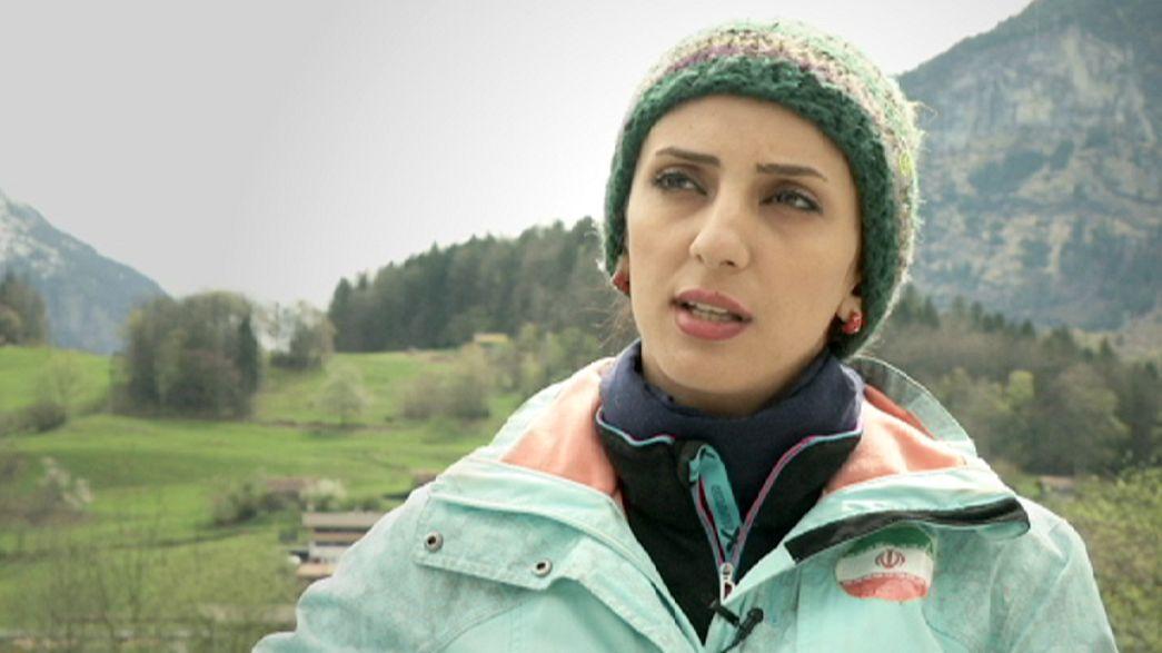Elnaz Rekabi: Eine Iranerin greift nach hohen Kletterzielen