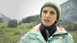Une Iranienne dans le gotha de l'escalade