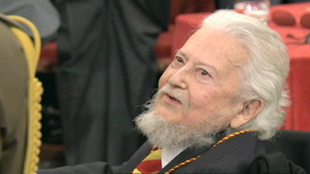 Le prix Cervantes remis à l'écrivain mexicain Fernando del Paso