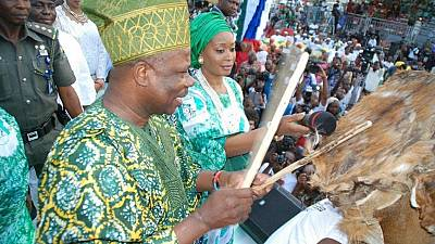 Nigeria's drum festival, a showcase of cultural heritage