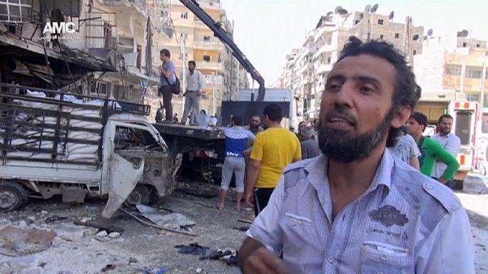 عشرات التقلى والجرحى في قصف للقوات السورية في ريفي دمشق وحلب