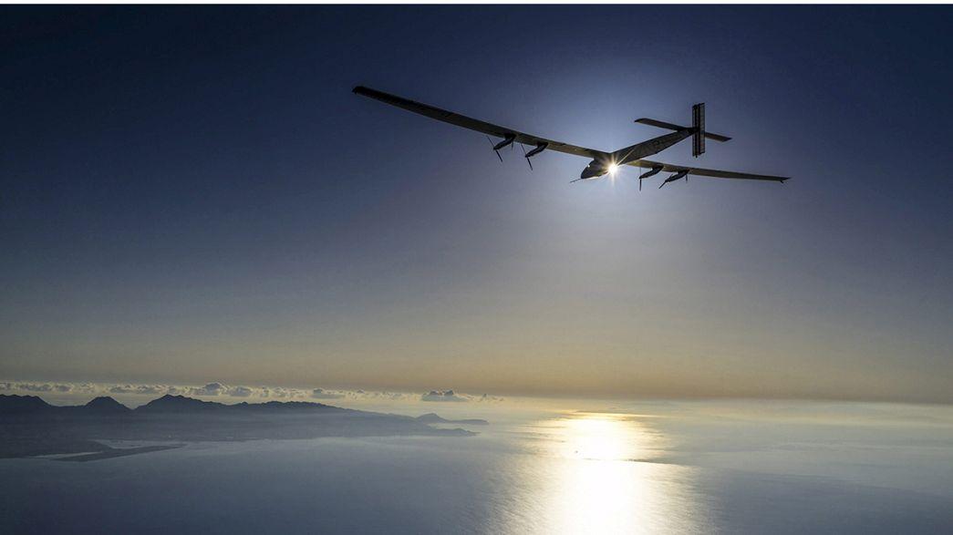 Missione compiuta per Solar Impulse 2: l'aereo ha attraversato l'Oceano Pacifico