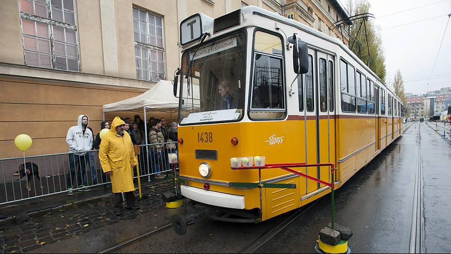 Budapest wins European tram-driving championship