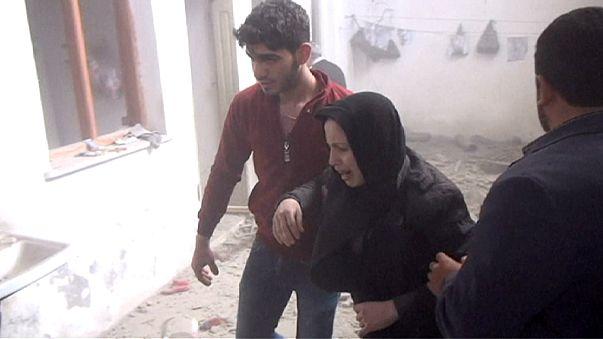 إصابة 16 شخصا جراء سقوط صاروخين على بلدة كيليس التركية
