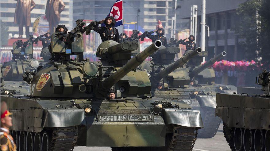 Image: North Korean parade