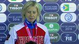 الروسية تاتيانا لوغونوفا تفوز بالجائزة الكبرى للمبارزة بالسيوف في ريو دي جانييرو