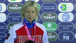 قهرمانی لگونووآ، شمشیرباز روس در مسابقات جایزه بزرگ ریودوژانیرو
