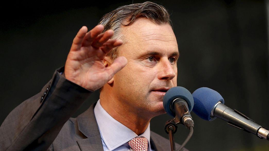Áustria: extrema-direita vence primeira volta das presidenciais (projeções)