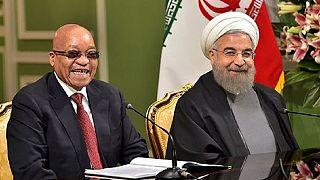 L'économie au centre de la visite de Jacob Zuma en Iran