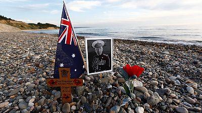 Australia y Nueva Zelanda recuerdan el desembarco de Gallipoli hace 101 años