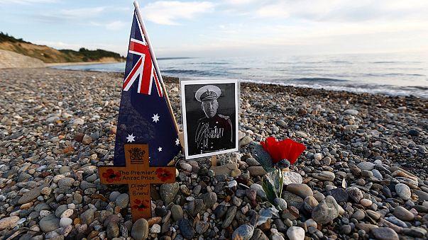 ANZAC Day: Australien und Neuseeland erinnern an Gallipolischlacht 1915