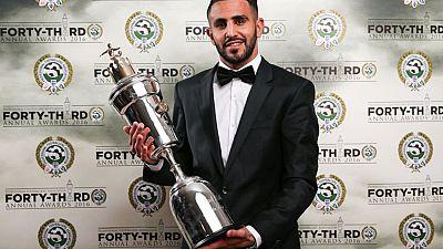 L'attaquant algérien Ryad Mahrez élu meilleur joueur du championnat anglais par la PFA