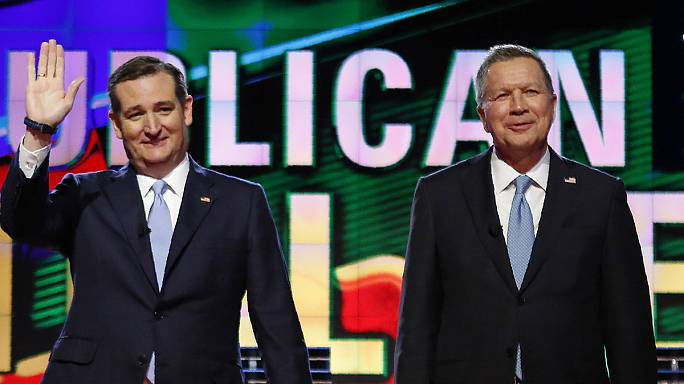 US Republicans Cruz and Kasich unite to stop Trump