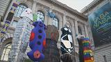 Stop polluting the oceans, says indigenous Australian art in Monaco