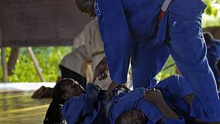 Refugee judoka targets Olympics to reunite with family in DRC