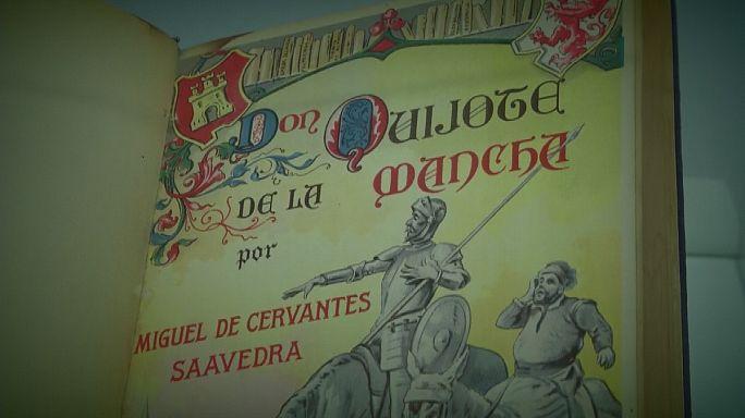 L'Espagne n'oublie pas Cervantes, le père de Don Quichotte