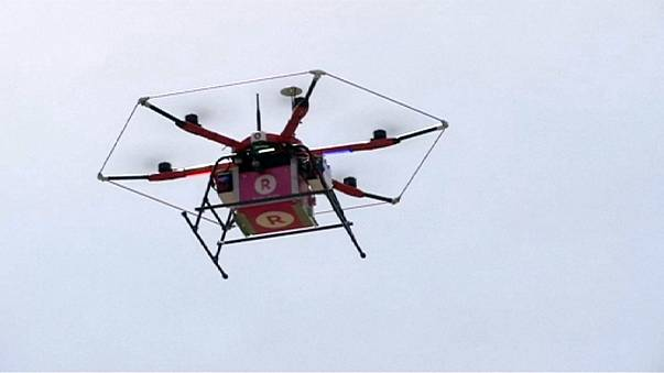 E-commerce, il gruppo giapponese Rakuten lancia la consegna con i droni
