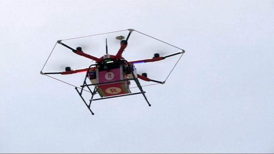 Japão lidera corrida às entregas comerciais com drone