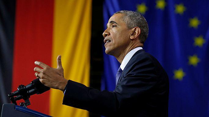 Обама в Германии отметил значимость ЕС для международного порядка