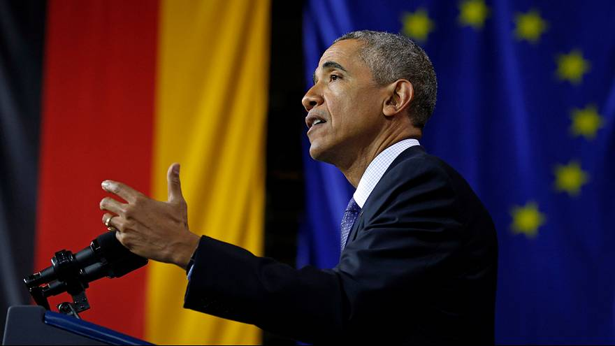 Obama chiede all'Europa di restare unita