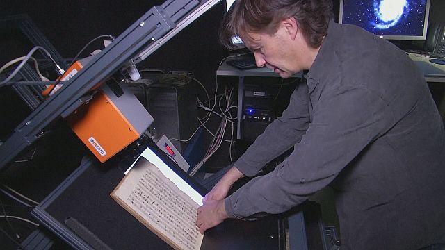 Kızılötesi teknolojisiyle filigran araştırması