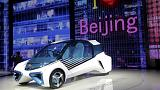 Veículos híbridos e SUV em destaque no Salão Automóvel de Pequim