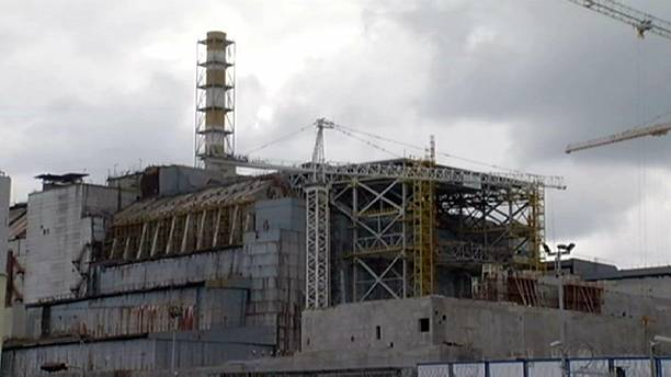 The 'arch' New Safe Confinement for reactor 4 at Chernobyl