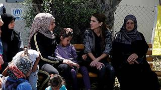 Jordan's Queen Rania questions EU migration deal with Turkey