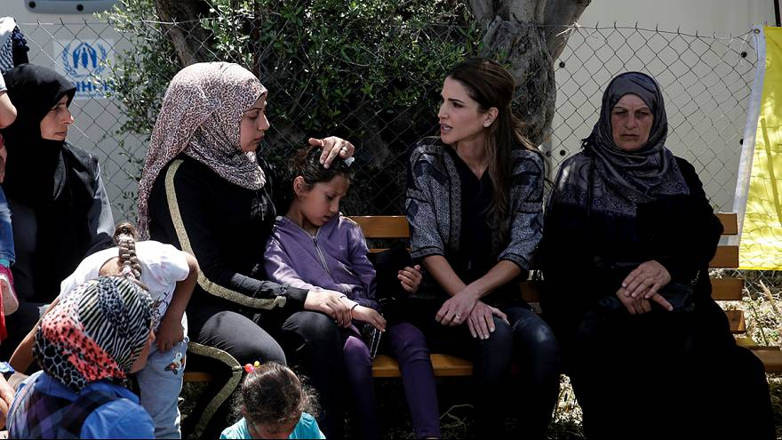 Jordan's Queen Rania questions EU migration deal with Turkey