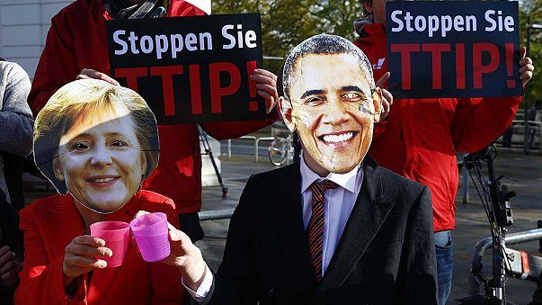 افزایش مخالفت با طرح تجارت آزاد میان اتحادیه اروپا و آمریکا