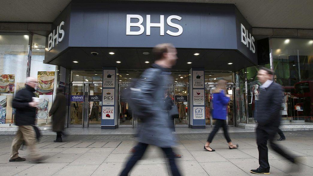 I grandi magazzini britannici Bhs in amministrazione controllata