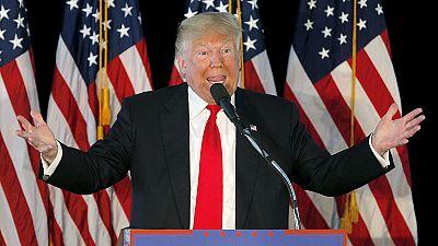 """Trump rubbishes Republican rivals over """"collusion"""""""