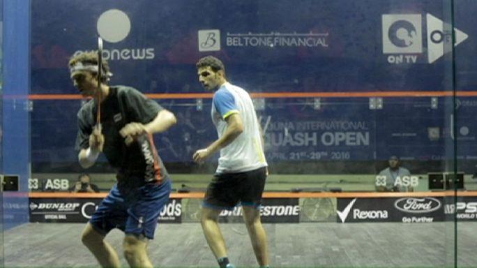 Squash : Mathieu Castagnet va défier Omar Mossad