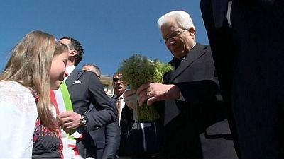 Itália celebra 25 de abril