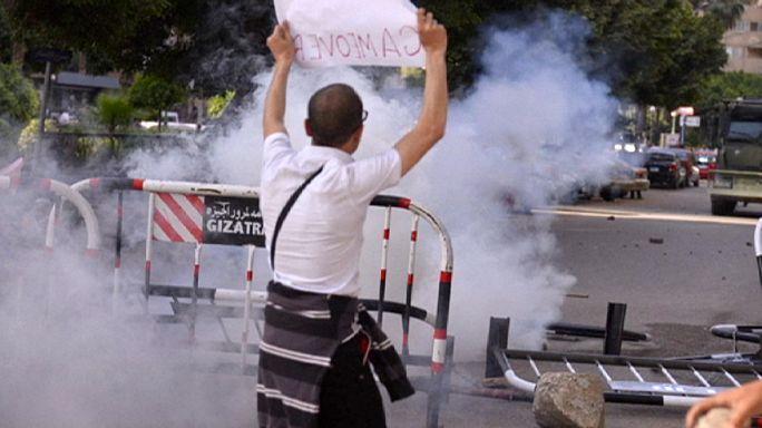 Könnygázzal oszlattak Kairóban