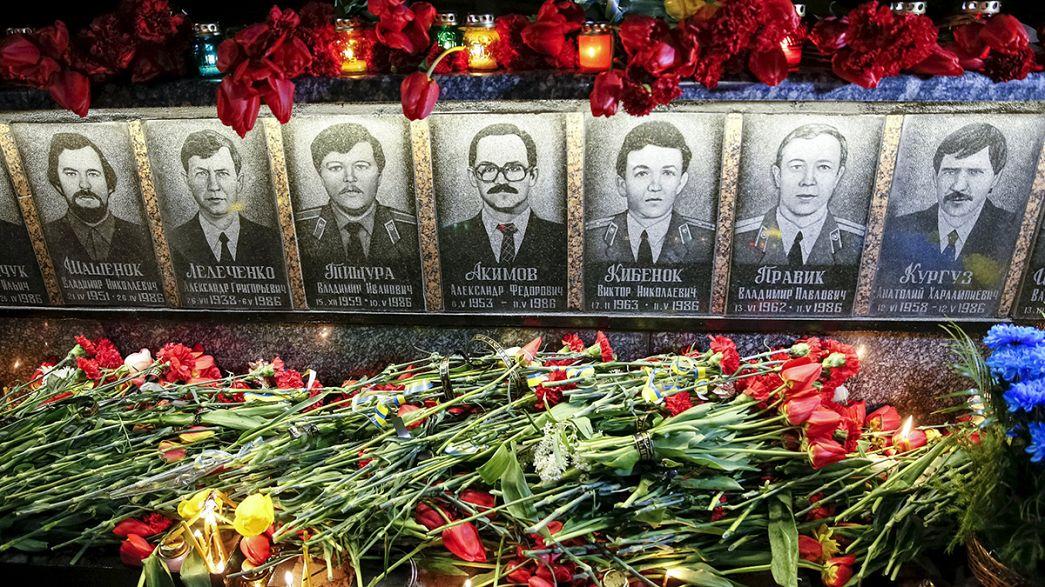 Ucrania, Rusia y Bielorrusia recuerdan Chernóbil por separado
