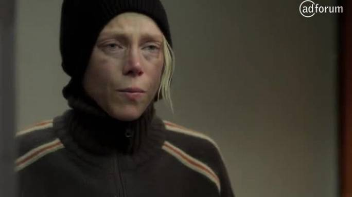 Scared woman (France 5)