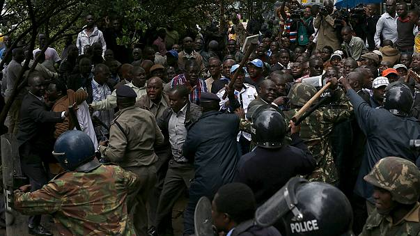 Kenyan opposition calls for electoral commission to quit