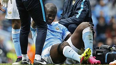 Toure ruled out of City – Madrid UCL clash